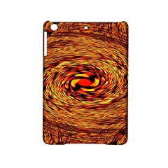 Orange Seamless Psychedelic Pattern Ipad Mini 2 Hardshell Cases by Amaryn4rt