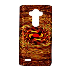 Orange Seamless Psychedelic Pattern Lg G4 Hardshell Case by Amaryn4rt