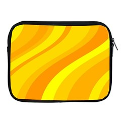 Orange Yellow Background Apple Ipad 2/3/4 Zipper Cases by Amaryn4rt