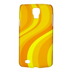 Orange Yellow Background Galaxy S4 Active by Amaryn4rt