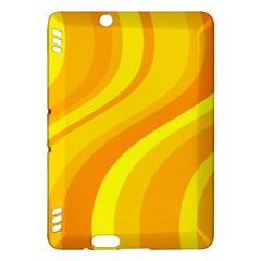 Orange Yellow Background Kindle Fire Hdx Hardshell Case