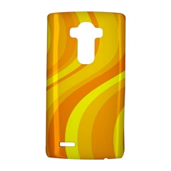 Orange Yellow Background Lg G4 Hardshell Case by Amaryn4rt