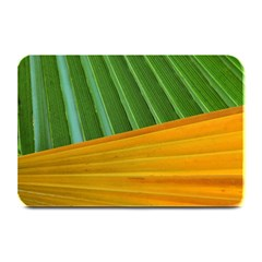 Pattern Colorful Palm Leaves Plate Mats by Amaryn4rt