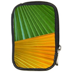 Pattern Colorful Palm Leaves Compact Camera Cases by Amaryn4rt