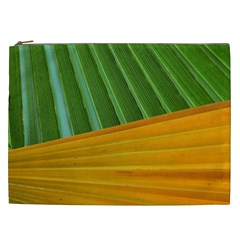 Pattern Colorful Palm Leaves Cosmetic Bag (xxl)
