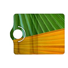 Pattern Colorful Palm Leaves Kindle Fire Hd (2013) Flip 360 Case by Amaryn4rt
