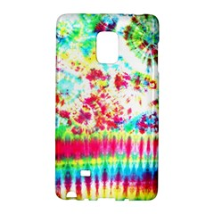 Pattern Decorated Schoolbus Tie Dye Galaxy Note Edge by Amaryn4rt