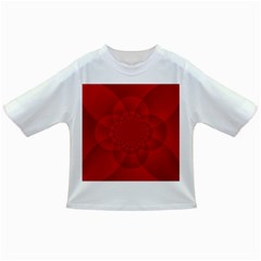 Psychedelic Art Red  Hi Tech Infant/toddler T Shirts