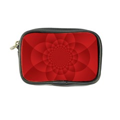 Psychedelic Art Red  Hi Tech Coin Purse by Amaryn4rt