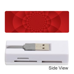 Psychedelic Art Red  Hi Tech Memory Card Reader (stick)  by Amaryn4rt