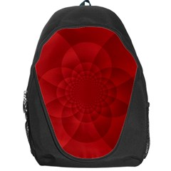 Psychedelic Art Red  Hi Tech Backpack Bag by Amaryn4rt