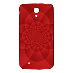 Psychedelic Art Red  Hi Tech Samsung Galaxy Mega I9200 Hardshell Back Case by Amaryn4rt