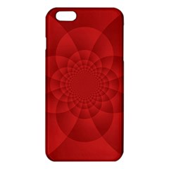Psychedelic Art Red  Hi Tech Iphone 6 Plus/6s Plus Tpu Case by Amaryn4rt