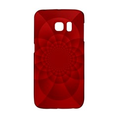 Psychedelic Art Red  Hi Tech Galaxy S6 Edge