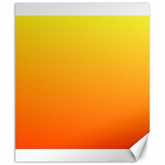 Rainbow Yellow Orange Background Canvas 20  X 24   by Amaryn4rt