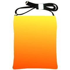 Rainbow Yellow Orange Background Shoulder Sling Bags by Amaryn4rt