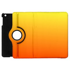 Rainbow Yellow Orange Background Apple Ipad Mini Flip 360 Case by Amaryn4rt