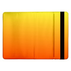 Rainbow Yellow Orange Background Samsung Galaxy Tab Pro 12 2  Flip Case