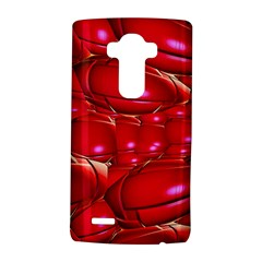 Red Abstract Cherry Balls Pattern Lg G4 Hardshell Case by Amaryn4rt