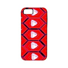 Red Bee Hive Apple Iphone 5 Classic Hardshell Case (pc+silicone)