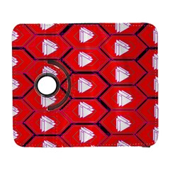 Red Bee Hive Galaxy S3 (flip/folio) by Amaryn4rt