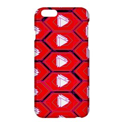 Red Bee Hive Apple Iphone 6 Plus/6s Plus Hardshell Case by Amaryn4rt