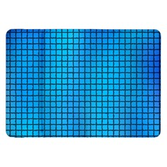 Seamless Blue Tiles Pattern Samsung Galaxy Tab 8.9  P7300 Flip Case by Amaryn4rt