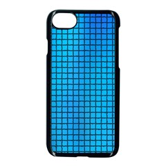 Seamless Blue Tiles Pattern Apple Iphone 7 Seamless Case (black)