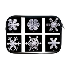Snowflakes Exemplifies Emergence In A Physical System Apple Macbook Pro 17  Zipper Case by Amaryn4rt
