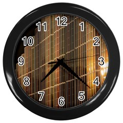 Swisstech Convention Center Wall Clocks (black) by Amaryn4rt