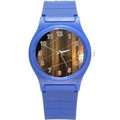 Swisstech Convention Center Round Plastic Sport Watch (s)
