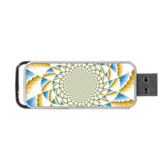 Tech Neon And Glow Backgrounds Psychedelic Art Psychedelic Art Portable Usb Flash (two Sides) by Amaryn4rt