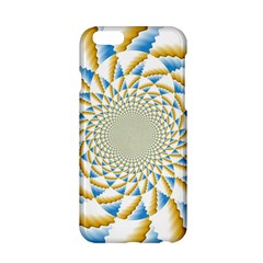 Tech Neon And Glow Backgrounds Psychedelic Art Psychedelic Art Apple Iphone 6/6s Hardshell Case by Amaryn4rt