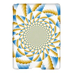 Tech Neon And Glow Backgrounds Psychedelic Art Psychedelic Art Samsung Galaxy Tab S (10 5 ) Hardshell Case  by Amaryn4rt