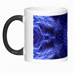 Tech Neon And Glow Backgrounds Psychedelic Art Morph Mugs by Amaryn4rt