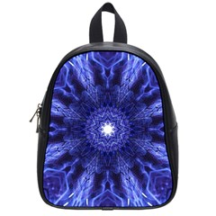 Tech Neon And Glow Backgrounds Psychedelic Art School Bags (small)  by Amaryn4rt