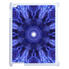 Tech Neon And Glow Backgrounds Psychedelic Art Apple Ipad 2 Case (white) by Amaryn4rt