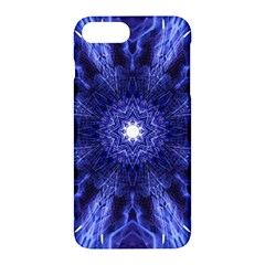 Tech Neon And Glow Backgrounds Psychedelic Art Apple Iphone 7 Plus Hardshell Case by Amaryn4rt
