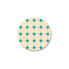 Tile Pattern Wallpaper Background Golf Ball Marker (10 Pack) by Amaryn4rt