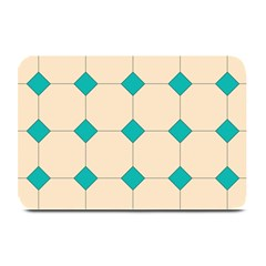Tile Pattern Wallpaper Background Plate Mats by Amaryn4rt
