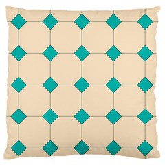 Tile Pattern Wallpaper Background Large Flano Cushion Case (two Sides) by Amaryn4rt