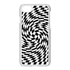 Whirl Apple Iphone 7 Seamless Case (white) by Amaryn4rt