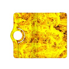 Yellow Abstract Background Kindle Fire Hdx 8 9  Flip 360 Case by Amaryn4rt