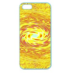 Yellow Seamless Psychedelic Pattern Apple Seamless Iphone 5 Case (color) by Amaryn4rt