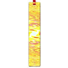 Yellow Seamless Psychedelic Pattern Large Book Marks by Amaryn4rt