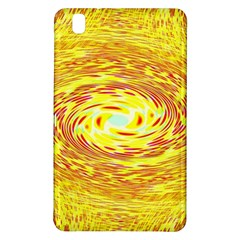 Yellow Seamless Psychedelic Pattern Samsung Galaxy Tab Pro 8 4 Hardshell Case by Amaryn4rt
