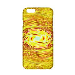 Yellow Seamless Psychedelic Pattern Apple Iphone 6/6s Hardshell Case by Amaryn4rt