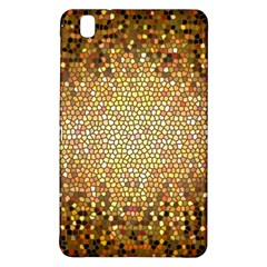 Yellow And Black Stained Glass Effect Samsung Galaxy Tab Pro 8 4 Hardshell Case by Amaryn4rt