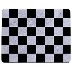 Square1 Black Marble & White Marble Jigsaw Puzzle Photo Stand (rectangular) by trendistuff
