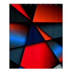 3d And Abstract Shower Curtain 60  X 72  (medium)  by Onesevenart